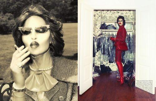 Вышли новые съемки Vogue, i-D, 10 и Interview. Изображение № 26.