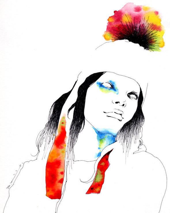 Изображение 10. Aki Miyajima.. Изображение № 10.