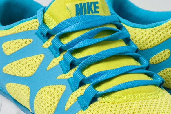 NIKE FREE 3.0 V.3 (LIME/CURRENT). Изображение № 1.
