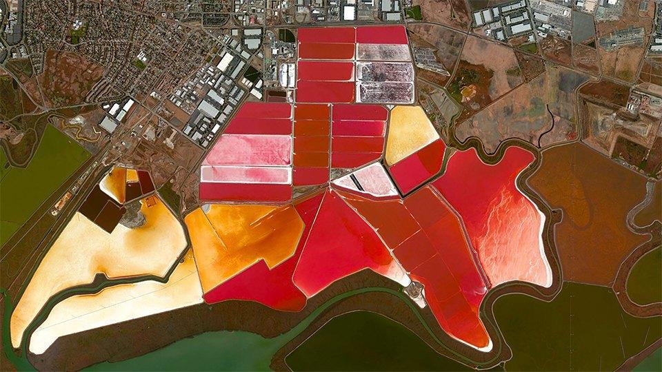 Снимки из космоса, напоминающие о хрупкости природы. Изображение № 18.