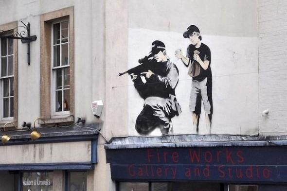 Изображение 32. Бристоль. Художественное граффити.. Изображение № 34.