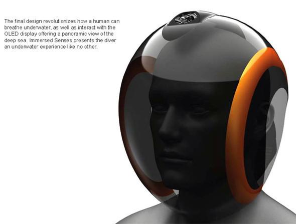 Подводный шлем- Immersed Senses. Изображение № 1.