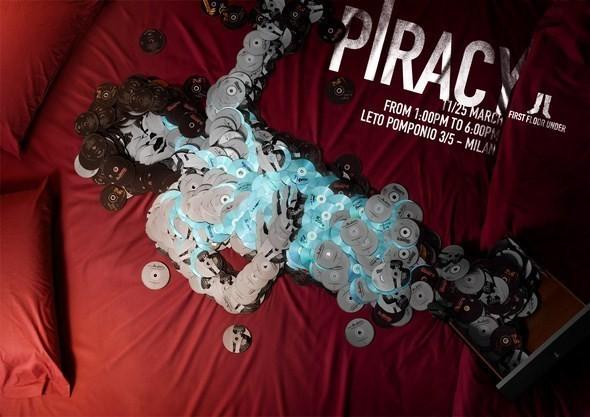 Изображение 6. Рекламная кампания: Копирайтеры против пиратства.. Изображение № 6.