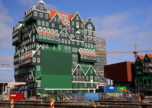 Hotel Inntel Zaandam. Изображение № 1.