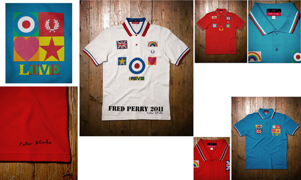 Fred PerryXPeter Blake for Blank Canvas. Изображение № 1.