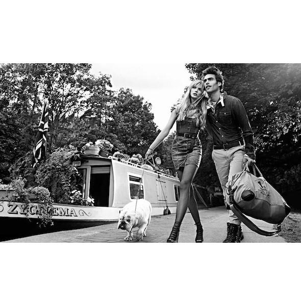 Изображение 23. Рекламные кампании: Fendi, Pepe Jeans и Trussardi 1911.. Изображение № 23.