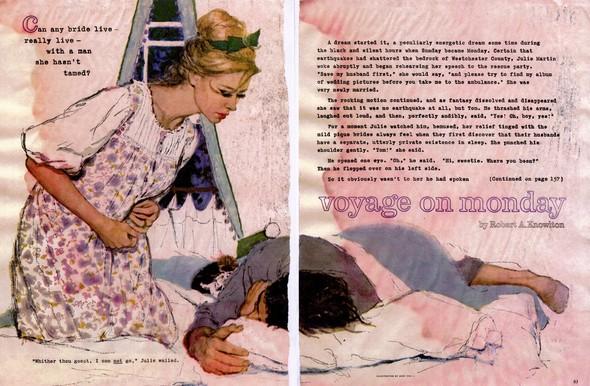 Американские иллюстраторы 40–60гг. ЧАСТЬ 1. Изображение № 3.