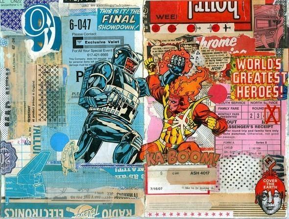 Изображение 53. Выставка: International Weird Collage Show.. Изображение № 53.