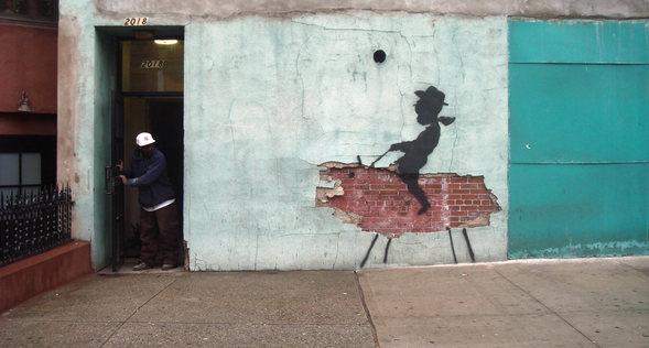 Изображение 4. Banksy (уличная мышь – герой).. Изображение № 4.