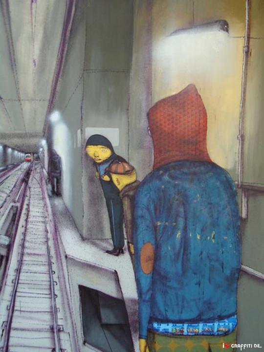 Граффити художники Os Gmeos о творческом пути. Изображение № 29.