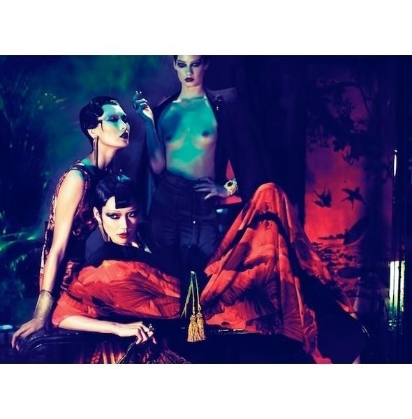Изображение 17. Съемки: i-D, Interview, POP и Vogue.. Изображение № 17.