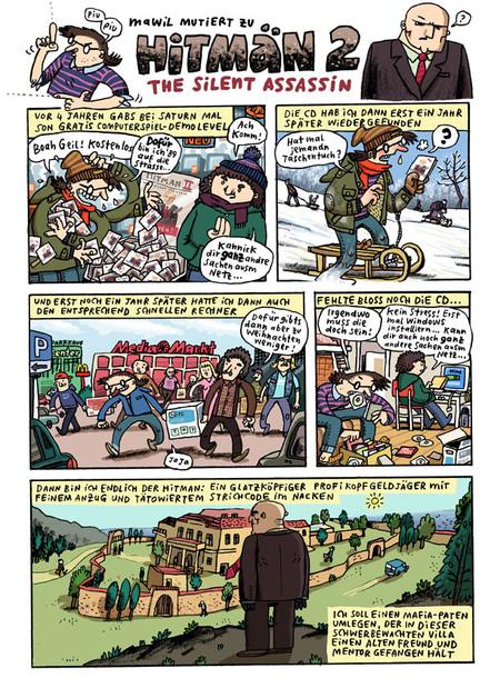 Mawil – немецкий автор комиксов. Изображение № 2.