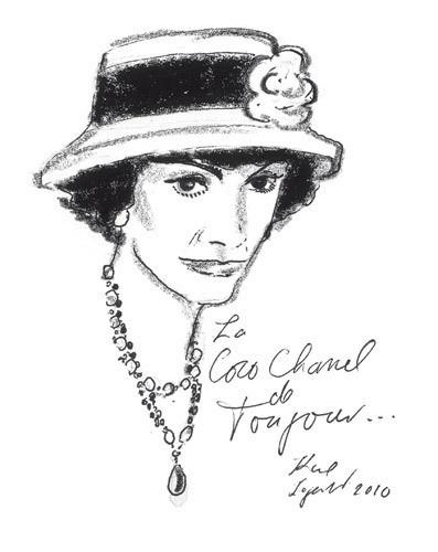 Иллюстрация Карла Лагерфельда к книге «Coco Chanel. Легенда и жизнь». Изображение № 3.