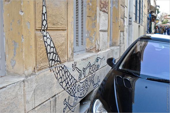 Стрит-арт и граффити Афин, Греция. Часть 2. Изображение № 19.