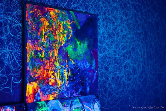 Евгения Кобурнеева о трансовой живописи и картинах с 3D-эффектом. Изображение № 4.