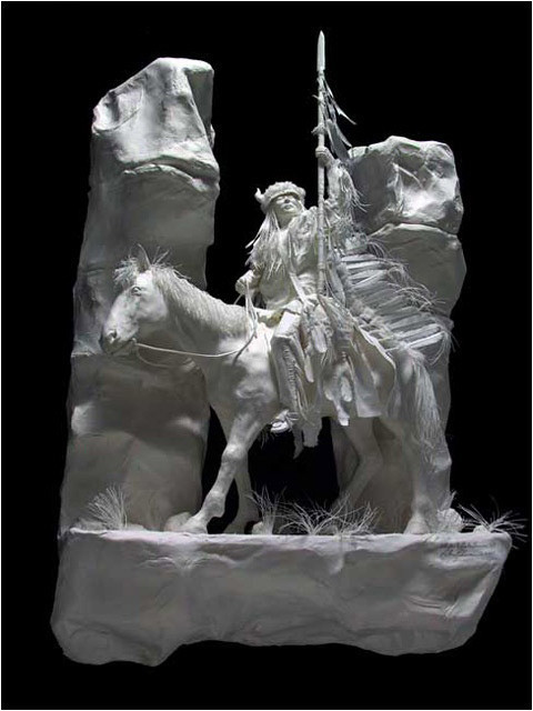 Бумажные скульптуры. Изображение № 9.