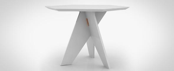 Шестиугольный стол Cell-za-table. Изображение № 2.