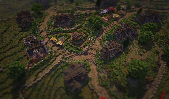 В Minecraft собрали Шир из «Властелина Колец» . Изображение № 6.