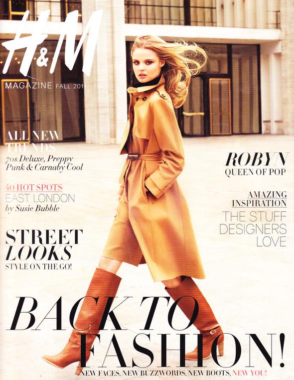Обложки: H&M, Harper's Bazaar, Numero и Wallpaper. Изображение № 1.