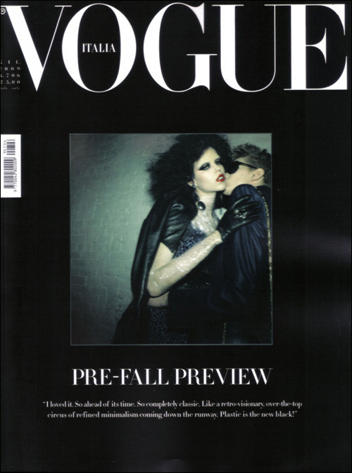 ALL TOMORROW'S PARTIES: Vogue Italia, June 2009. Изображение № 1.