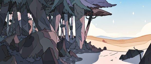 Анимация дня: фэнтезийный ролик про любовь и побег. Изображение № 11.