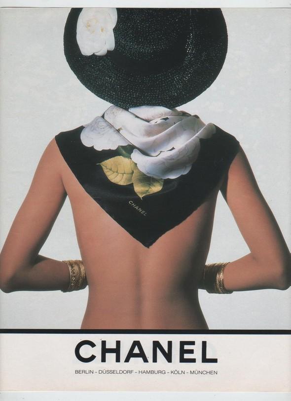 Архивная съёмка: Рекламная кампания Chanel SS 1990. Изображение № 11.