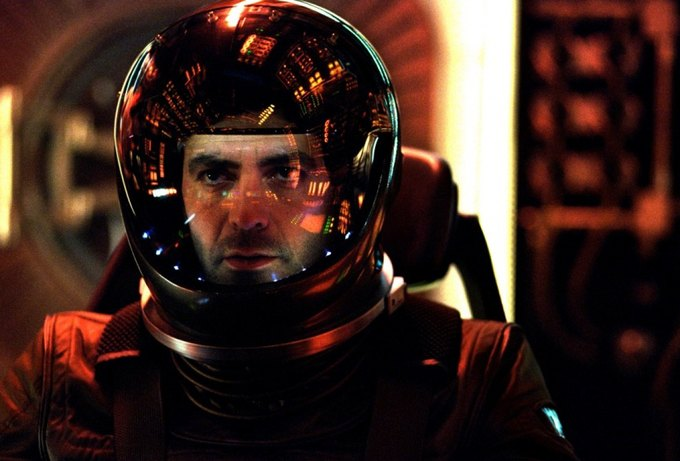 Джордж Клуни в роли астронавта в «Солярисе». Изображение № 1.