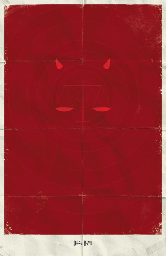 Минималистичные постеры для Marvel Comics. Изображение № 10.