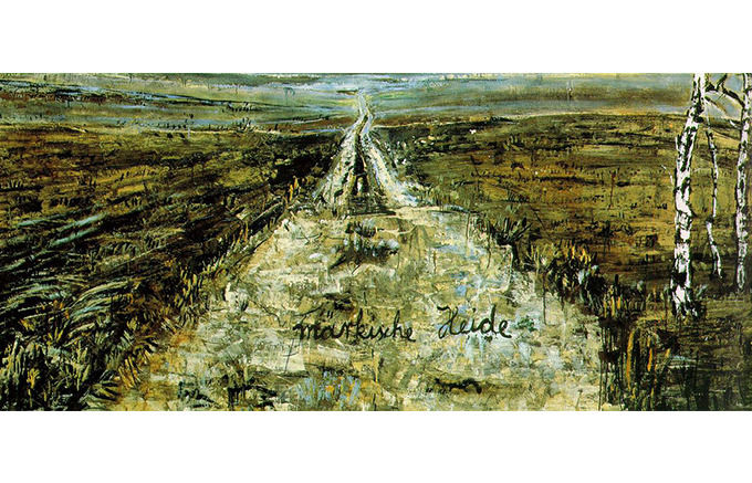 Anselm Kiefer, Paths: March Sand, 1980. Изображение № 49.