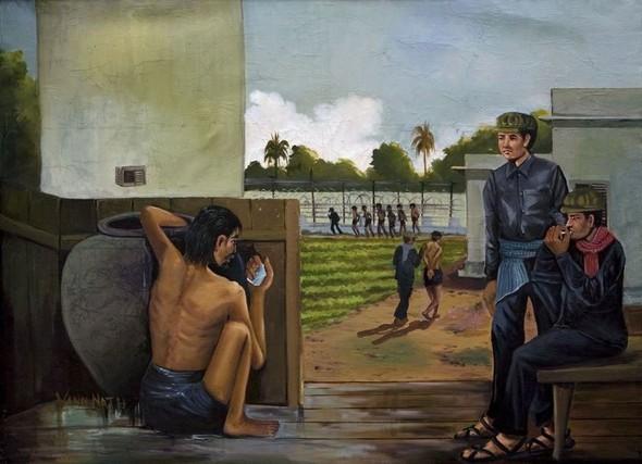 Кхмерский художник Vann Nath. Изображение № 6.
