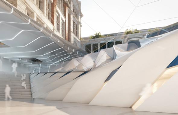 Музей Виктории и Альберта: новый архитектурный проект. Изображение № 3.