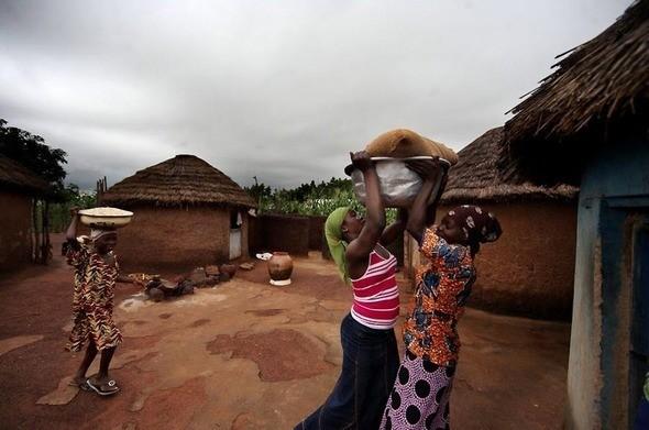 Изображение 26. Рыночные девушки из Ганы.. Изображение № 26.