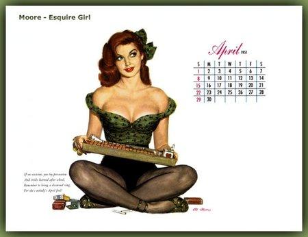Изображение 9. Esquire встиле pin-up.. Изображение № 7.