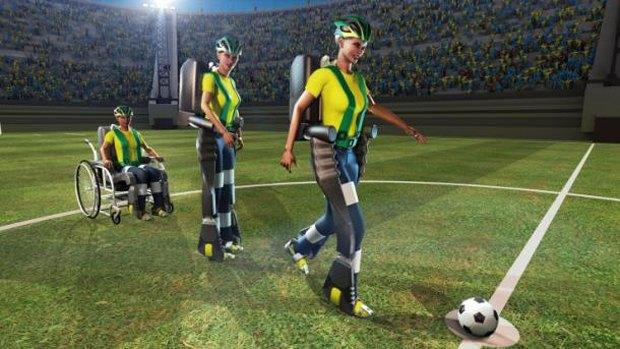Чемпионат мира по футболу откроет человек в экзоскелете. Изображение № 1.