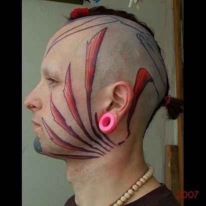 Татуировки в стиле Иннормизма. Изображение № 8.