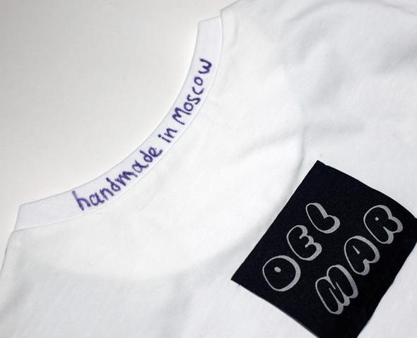 DelMar – футболки изсердца Москвы сморской душой. Изображение № 3.