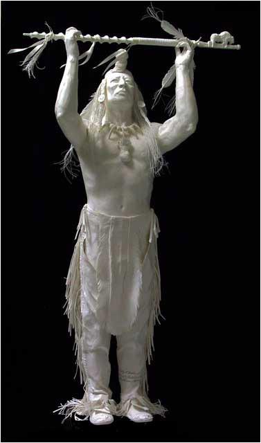 Бумажные скульптуры. Изображение № 39.