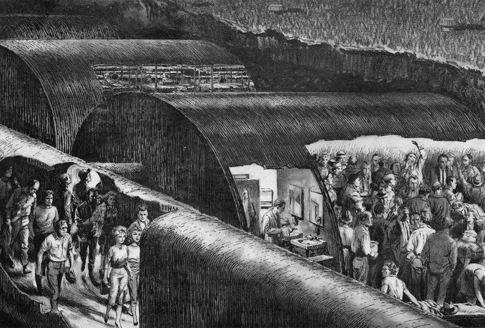 Какими представляли бомбоубежища в разгар холодной войны. Изображение № 2.