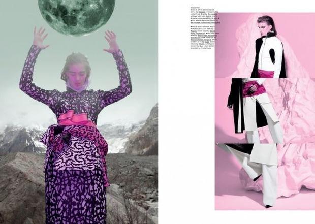Новые съемки Dazed & Confused, Vogue, Pop и Madame Figaro. Изображение № 31.