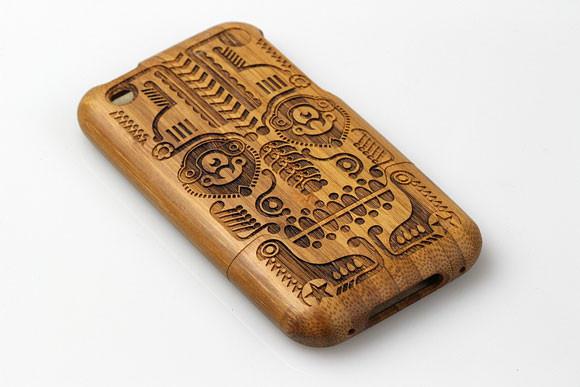 Деревянные корпуса для iPhone. Изображение № 8.