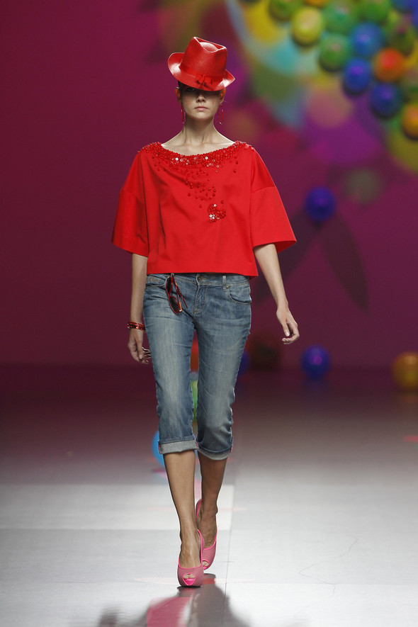 Madrid Fashion Week SS 2012: Agatha Ruiz de la Prada. Изображение № 7.