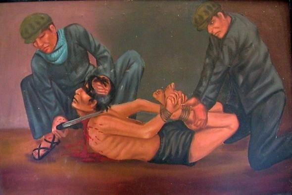 Кхмерский художник Vann Nath. Изображение № 18.