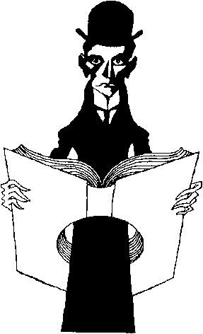 Карикатуры на писателей. Изображение № 53.