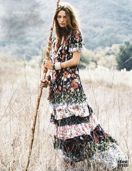 hippie dress brideopt. Изображение № 8.