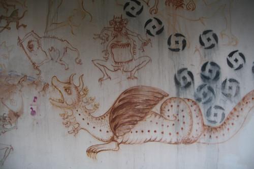 Суровый финский стрит-арт или что викинги рисуют на стенах?. Изображение № 8.