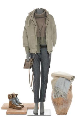 Brunello Cucinelli: лукбук осень-зима 2011/2012. Изображение № 76.