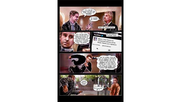 Сооснователь Twitter Джек Дорси стал героем комикса. Изображение № 2.