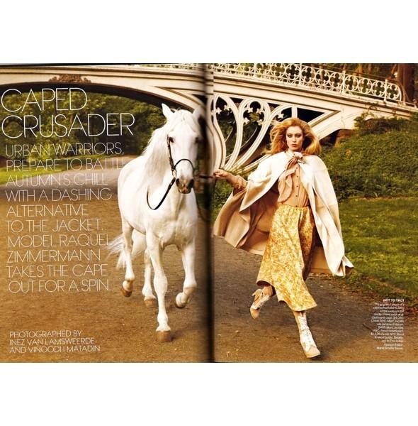 5 новых съемок: Dazed & Confused, Harper's Bazaar и W. Изображение № 32.