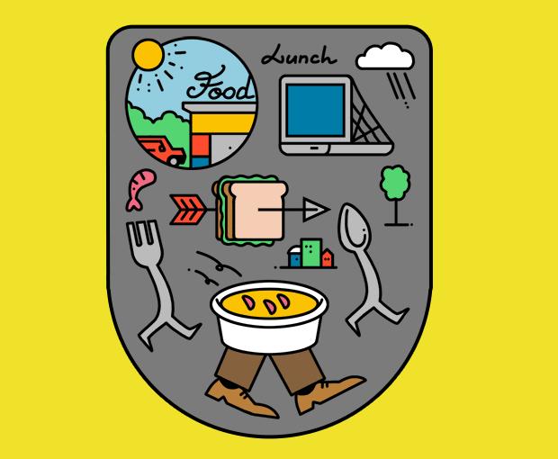 Лайфхак недели: обед не на рабочем месте. Изображение № 1.