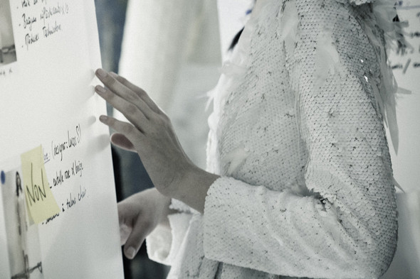 Фестиваль Hyeres: Дневник с бэкстейджа самого смелого конкурса в фэшн-дизайне. Изображение № 46.